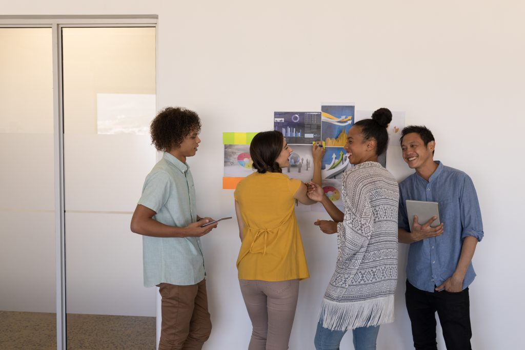 Planning company culture values