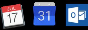 email calendar integration for e-days leave planner