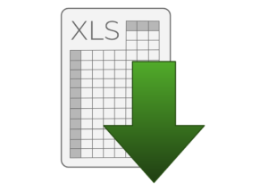 export to excel logo