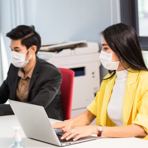 Onboarding employees during Hybrid Working.